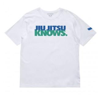 футболка DO OR DIE JIU JITSU KNOWS TEE White
