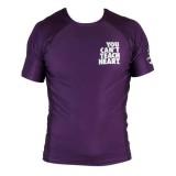 рашгард Short Sleeve YCTH. Ranked Rash Guard purple