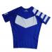 рашгард гіперфлай  Short Sleeve Classic Ranked Rash Guard Blue