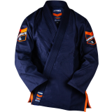 HYPERLYTE BJJ GI NAVY WITH ORANGE