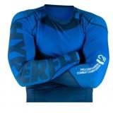 Hyperfly Long Sleeve Supreme Ranked Rash Guard Blue