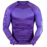 Hyperfly Long Sleeve Supreme Ranked Rash Guard Purple