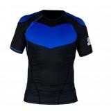 Hyperfly Short Sleeve Supreme Ranked Rash Guard II blue